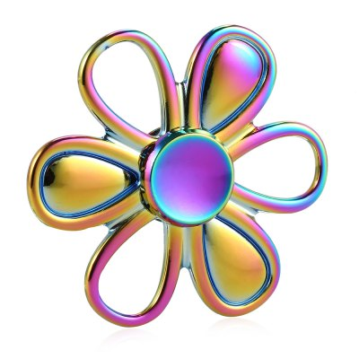 Six-leaf Flower Rainbow Zinc Alloy Fidget SpinnerFidget Spinners<br>Six-leaf Flower Rainbow Zinc Alloy Fidget Spinner<br><br>Color: Colorful<br>Frame material: Zinc Alloy<br>Package Contents: 1 x Fidget Spinner<br>Package size (L x W x H): 7.40 x 7.40 x 2.20 cm / 2.91 x 2.91 x 0.87 inches<br>Package weight: 0.0630 kg<br>Product size (L x W x H): 6.40 x 6.40 x 1.20 cm / 2.52 x 2.52 x 0.47 inches<br>Product weight: 0.0470 kg<br>Type: Rainbow