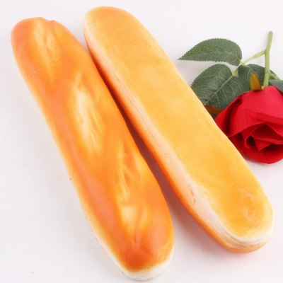 Realistic Baguette Soft PU Foam Squishy ToyNovelty Toys<br>Realistic Baguette Soft PU Foam Squishy Toy<br><br>Features: Soft<br>Materials: PU<br>Package Contents: 1 x Squishy Toy<br>Package size: 30.00 x 6.00 x 6.00 cm / 11.81 x 2.36 x 2.36 inches<br>Package weight: 0.0990 kg<br>Product size: 29.00 x 5.00 x 5.00 cm / 11.42 x 1.97 x 1.97 inches<br>Product weight: 0.0490 kg<br>Series: Entertainment,Lifestyle<br>Theme: Other
