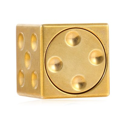 Mini Dice Cube Brass ADHD EDC Fidget SpinnerFidget Spinners<br>Mini Dice Cube Brass ADHD EDC Fidget Spinner<br><br>Color: Gold<br>Frame material: Brass<br>Package Contents: 1 x Fidget Spinner, 1 x Storage Bag<br>Package size (L x W x H): 9.00 x 9.20 x 3.30 cm / 3.54 x 3.62 x 1.3 inches<br>Package weight: 0.1150 kg<br>Product size (L x W x H): 2.30 x 2.30 x 2.30 cm / 0.91 x 0.91 x 0.91 inches<br>Product weight: 0.0850 kg