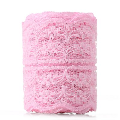 3m Natural Elastic Craft Ribbon Roll LaceDecorative Flowers<br>3m Natural Elastic Craft Ribbon Roll Lace<br><br>Package Contents: 1 x Roll of Lace<br>Package size (L x W x H): 9.40 x 9.00 x 3.30 cm / 3.7 x 3.54 x 1.3 inches<br>Package weight: 0.0270 kg<br>Product size (L x W x H): 300.00 x 4.50 x 0.10 cm / 118.11 x 1.77 x 0.04 inches<br>Product weight: 0.0060 kg<br>Usage: Wedding, Valentine Gift, Party, New Year, Christmas, Birthday