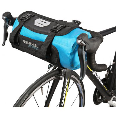 ROSWHEEL 111369 Water-resistant 7L Bike Handlebar Bag Pack
