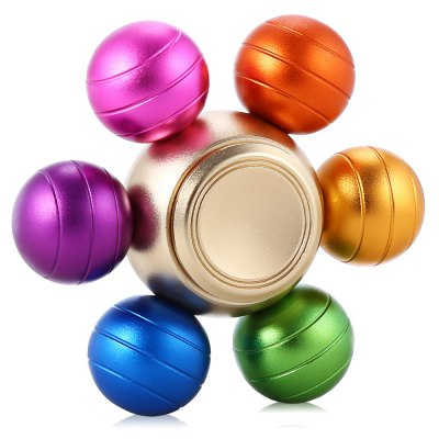 Six-ball Aluminum Alloy ADHD Fidget SpinnerFidget Spinners<br>Six-ball Aluminum Alloy ADHD Fidget Spinner<br><br>Color: Colorful<br>Frame material: Aluminum Alloy<br>Package Contents: 1 x Fidget Spinner<br>Package size (L x W x H): 6.90 x 6.90 x 3.10 cm / 2.72 x 2.72 x 1.22 inches<br>Package weight: 0.0800 kg<br>Product size (L x W x H): 5.90 x 5.90 x 2.10 cm / 2.32 x 2.32 x 0.83 inches<br>Product weight: 0.0680 kg