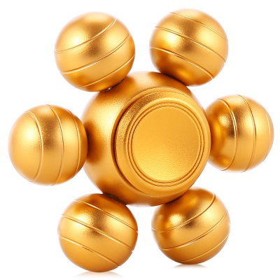 Six-ball Aluminum Alloy ADHD Fidget SpinnerFidget Spinners<br>Six-ball Aluminum Alloy ADHD Fidget Spinner<br><br>Color: Gold<br>Frame material: Aluminum Alloy<br>Package Contents: 1 x Fidget Spinner<br>Package size (L x W x H): 6.90 x 6.90 x 3.10 cm / 2.72 x 2.72 x 1.22 inches<br>Package weight: 0.0800 kg<br>Product size (L x W x H): 5.90 x 5.90 x 2.10 cm / 2.32 x 2.32 x 0.83 inches<br>Product weight: 0.0680 kg