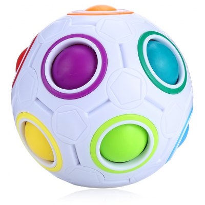 Colorful Fingertip Exercise ABS ADHD Fidget Ball