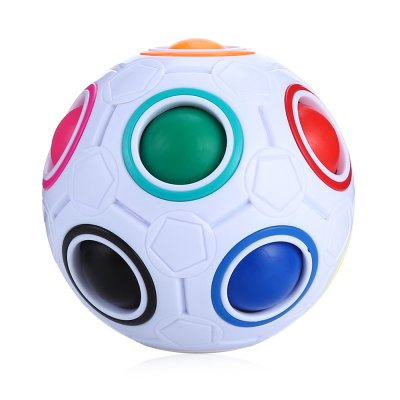 Colorful Fingertip Exercise ABS ADHD Fidget BallNovelty Toys<br>Colorful Fingertip Exercise ABS ADHD Fidget Ball<br><br>Features: Creative Toy<br>Materials: ABS<br>Package Contents: 1 x Fidget Ball<br>Package size: 8.50 x 8.50 x 7.80 cm / 3.35 x 3.35 x 3.07 inches<br>Package weight: 0.1440 kg<br>Product size: 7.00 x 7.00 x 6.80 cm / 2.76 x 2.76 x 2.68 inches<br>Product weight: 0.0980 kg<br>Series: Entertainment<br>Theme: Other