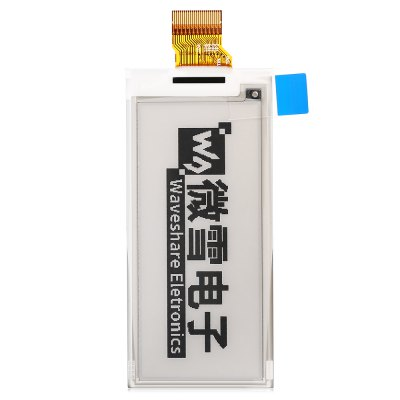 Waveshare 2.9 inch SPI Interface E-ink ScreenLCD,LED Display Module<br>Waveshare 2.9 inch SPI Interface E-ink Screen<br><br>Brand: Waveshare<br>Package Contents: 1 x 2.9 inch E-ink Display Screen<br>Package Size(L x W x H): 14.00 x 9.00 x 2.50 cm / 5.51 x 3.54 x 0.98 inches<br>Package weight: 0.0170 kg<br>Product Size(L x W x H): 7.90 x 3.67 x 1.05 cm / 3.11 x 1.44 x 0.41 inches<br>Product weight: 0.0040 kg<br>Screen type: Led Display<br>Type: Display Screen