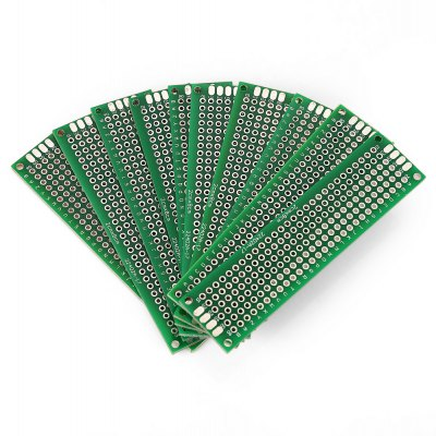 10PCS 2 x 8cm Double Side PCB Printed Circuit Board