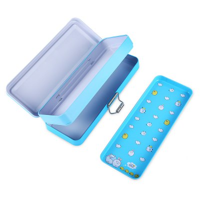 Deli 95556 Pencil Box Pen CaseSchool Supplies<br>Deli 95556 Pencil Box Pen Case<br><br>Brand: Deli<br>Features: Pencil box<br>Model: 95556<br>Package Contents: 1 x Deli 95556 Pencil Box<br>Package size (L x W x H): 21.70 x 8.50 x 4.70 cm / 8.54 x 3.35 x 1.85 inches<br>Package weight: 0.2160 kg<br>Product size (L x W x H): 20.70 x 7.50 x 3.70 cm / 8.15 x 2.95 x 1.46 inches<br>Product weight: 0.1910 kg