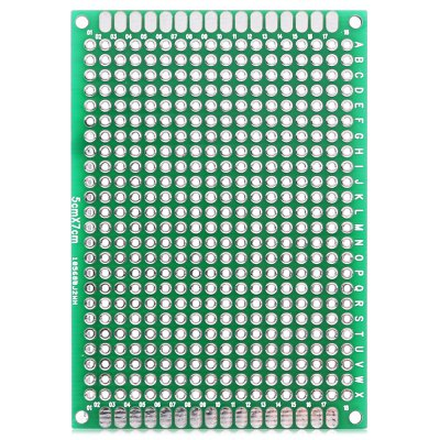 40PCS FR4 Double Side PCB Printed Circuit BoardDIY Parts &amp; Components<br>40PCS FR4 Double Side PCB Printed Circuit Board<br><br>Material: FR4 ( glass fiber )<br>Package Contents: 40 x Double-side PCB Protoboard<br>Package Size(L x W x H): 17.00 x 2.00 x 3.00 cm / 6.69 x 0.79 x 1.18 inches<br>Package weight: 0.3000 kg<br>Product weight: 0.2830 kg
