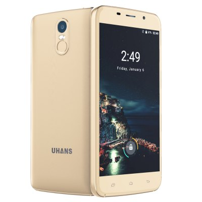 UHANS A6 3G Phablet 5.5 inch Full Lamination Screen Android 7.0