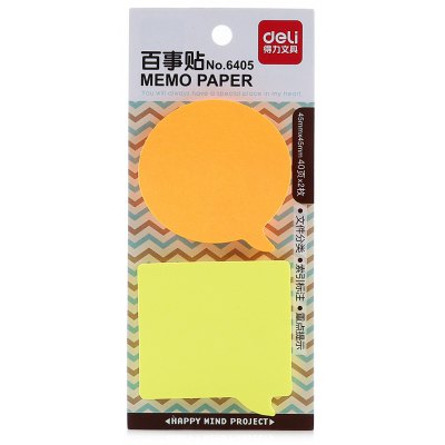 Deli 6405 Post-it Sticker Notes Bookmark Marker