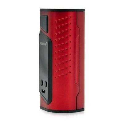 Sigelei Fuchai Duo - 3 175W TC ModTemperature Control Mods<br>Sigelei Fuchai Duo - 3 175W TC Mod<br><br>Accessories type: MOD<br>APV Mod Wattage Range: 151-200W<br>Battery Cover Type: Magnetic<br>Battery Form Factor: 18650<br>Battery Quantity: 2pcs ( not included )<br>Brand: Sigelei<br>Material: Zinc Alloy<br>Mod: Temperature Control Mod,VV/VW Mod<br>Model: Fuchai Duo - 3 175W<br>Package Contents: 1 x Sigelei Fuchai Duo - 3 175W Mod, 1 x Micro USB Cable, 1 x English User Manual<br>Package size (L x W x H): 8.50 x 4.50 x 11.00 cm / 3.35 x 1.77 x 4.33 inches<br>Package weight: 0.2710 kg<br>Product size (L x W x H): 4.20 x 3.30 x 8.50 cm / 1.65 x 1.3 x 3.35 inches<br>Product weight: 0.1430 kg<br>Type: Electronic Cigarettes Accessories