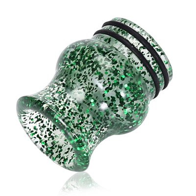 810 Sequins Resin Drip Tip for TFV8Accessories<br>810 Sequins Resin Drip Tip for TFV8<br><br>Material: Resin<br>Package Contents: 1 x Drip Tip<br>Package size (L x W x H): 2.60 x 2.60 x 3.60 cm / 1.02 x 1.02 x 1.42 inches<br>Package weight: 0.0160 kg<br>Product size (L x W x H): 1.40 x 1.40 x 2.00 cm / 0.55 x 0.55 x 0.79 inches<br>Product weight: 0.0020 kg