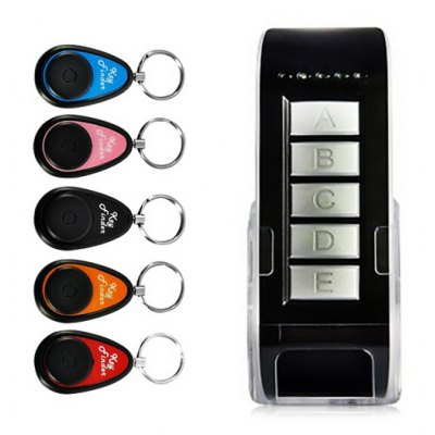 Electronic 5 - in - 1 Wireless Key Finder Keychain