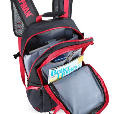 INDEPMAN Leisure BackpackBackpacks<br>INDEPMAN Leisure Backpack<br><br>Bag Capacity: 35L<br>Brand: INDEPMAN<br>Capacity: 31 - 40L<br>Features: Water Resistance, Ultra Light, Laptop Bag<br>For: Casual, Traveling, Sports, Other<br>Gender: Unisex<br>Material: Nylon, Polyester<br>Package Contents: 1 x INDEPMAN Leisure Backpack<br>Package size (L x W x H): 46.00 x 31.00 x 5.00 cm / 18.11 x 12.2 x 1.97 inches<br>Package weight: 0.8350 kg<br>Product size (L x W x H): 45.00 x 30.00 x 12.00 cm / 17.72 x 11.81 x 4.72 inches<br>Product weight: 0.7850 kg<br>Strap Length: 45 - 90cm<br>Style: Fashion<br>Type: Backpack