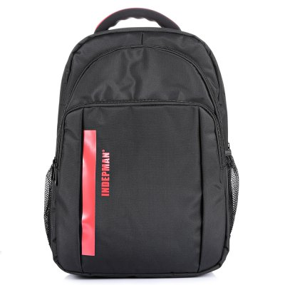 INDEPMAN DL - B301 BackpackBackpacks<br>INDEPMAN DL - B301 Backpack<br><br>Bag Capacity: 23L<br>Brand: INDEPMAN<br>Capacity: 21 - 30L<br>Features: Laptop Bag, Ultra Light, Water Resistance<br>For: Hiking, Traveling, Casual<br>Gender: Unisex<br>Material: Polyester, Nylon<br>Package Contents: 1 x INDEPMAN DL - B301 Backpack<br>Package size (L x W x H): 35.00 x 6.00 x 49.00 cm / 13.78 x 2.36 x 19.29 inches<br>Package weight: 0.8050 kg<br>Product size (L x W x H): 34.00 x 14.00 x 48.00 cm / 13.39 x 5.51 x 18.9 inches<br>Product weight: 0.7450 kg<br>Strap Length: 45 - 80cm<br>Style: Fashion<br>Type: Backpack