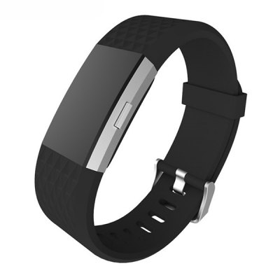 Silicon Wristband Replacement Strap for Fitbit Charge 2