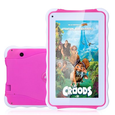 Excelvan 711 Kids Tablet PCTablet PCs<br>Excelvan 711 Kids Tablet PC<br><br>3.5mm Headphone Jack: Yes<br>AC adapter: 110-240V 5V 2A<br>Additional Features: MP4, WiFi, OTG, Calculator, Browser, MP3, GPS, Bluetooth, Alarm<br>Back camera: 2.0MP<br>Battery Capacity: 3000mAh<br>Bluetooth: Yes<br>Brand: EXCELVAN<br>Camera type: Dual cameras (one front one back)<br>Core: Quad Core, 1.2GHz<br>CPU: RK3126<br>CPU Brand: Rockchip<br>DC Jack: Yes<br>English Manual : 1<br>External Memory: TF card up to 64GB (not included)<br>Front camera: 2.0MP<br>G-sensor: Supported<br>GPU: OpenGL ES 2.0<br>Languages support : Supports multi-language<br>Material of back cover: Plastic<br>MIC: Supported<br>Micro USB Slot: Yes<br>MS Office format: Excel, PPT, Word<br>Music format: AAC, MP3, OGG, WMA<br>OS: Android 4.4<br>OTG Cable: 1<br>Package size: 30.50 x 18.50 x 7.50 cm / 12.01 x 7.28 x 2.95 inches<br>Package weight: 0.7300 kg<br>Picture format: PNG, BMP, GIF, JPEG<br>Power Adapter: 1<br>Product size: 23.00 x 13.00 x 1.20 cm / 9.06 x 5.12 x 0.47 inches<br>Product weight: 0.3500 kg<br>RAM: 512MB<br>ROM: 8GB<br>Screen resolution: 1024 x 600 (WSVGA)<br>Screen size: 7 inch<br>Screen type: Capacitive (5-Point)<br>Skype: Supported<br>Speaker: Supported<br>Support Network: WiFi<br>Tablet PC: 1<br>TF card slot: Yes<br>Type: Kids Tablet<br>USB Cable: 1<br>Video format: AVI, MP4, WMV, 3GP, H.264<br>WIFI: 802.11b/g/n wireless internet<br>Youtube: Supported