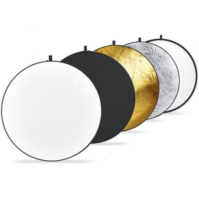 110cm 5 in 1 Portable Collapsible Light Round Photography