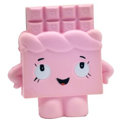 Squishy Chocolate Bar Ultra Soft PU Foam Toy