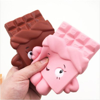 Squishy Chocolate Bar Ultra Soft PU Foam ToySquishy toys<br>Squishy Chocolate Bar Ultra Soft PU Foam Toy<br><br>Color: Pink<br>Materials: PU<br>Package Content: 1 x Squishy Toy<br>Package Dimension: 13.00 x 14.00 x 3.00 cm / 5.12 x 5.51 x 1.18 inches<br>Package Weights: 90g<br>Pattern Type: Snack<br>Product Dimension: 12.00 x 13.00 x 2.00 cm / 4.72 x 5.12 x 0.79 inches<br>Product Weights: 64g<br>Products Type: Squishy Toy<br>Theme: Cartoon<br>Use: Home Decoration