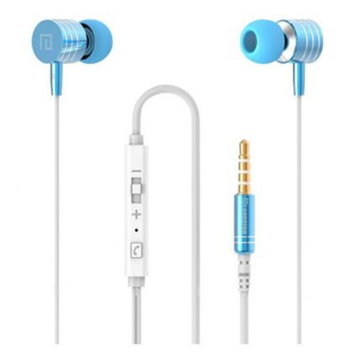 LG - 001 Powerful Bass Metal Earphones with Mic