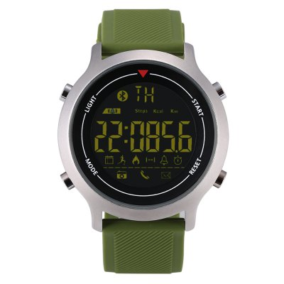 Zeblaze VIBE Bluetooth Sports SmartwatchSmart Watches<br>Zeblaze VIBE Bluetooth Sports Smartwatch<br><br>Alert type: Ring<br>Band material: Silicone<br>Band size: 24 x 2 cm<br>Battery  Capacity: 240mAh<br>Bluetooth calling: Phone call reminder<br>Bluetooth Version: Bluetooth 4.0<br>Brand: Zeblaze<br>Built-in chip type: SI-BW03<br>Case material: High Aluminium-zinc Alloy ZA-8<br>Compatability: Android 4.4 or above and iOS 7.0 or above<br>Compatible OS: Android, IOS<br>Dial size: 4.55 x 4.55 x 1.3 cm<br>Groups of alarm: 3<br>IP rating: IP67<br>Language: Arabic,French,German,Italian,Japanese,Portuguese,Russian,Spanish<br>Messaging: Message reminder<br>Notification type: QQ, WhatsApp, Wechat, Facebook, Skype, Twitter<br>Operating mode: Press button<br>Other Function: Stopwatch<br>Package Contents: 1 x Smartwatch, 1 x English Manual<br>Package size (L x W x H): 10.00 x 10.00 x 7.50 cm / 3.94 x 3.94 x 2.95 inches<br>Package weight: 0.1870 kg<br>People: Female table,Male table<br>Product size (L x W x H): 24.00 x 4.55 x 1.30 cm / 9.45 x 1.79 x 0.51 inches<br>Product weight: 0.0820 kg<br>Remote control function: Remote Camera<br>Screen: FSTN<br>Screen size: 1.1 inch<br>Shape of the dial: Round<br>Standby time: 365 days<br>Type of battery: Button cell<br>Waterproof: Yes<br>Wearing diameter: 16 - 22.5 cm
