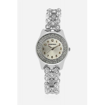 SHI WEI BAO A3228 Luxury Quartz Female WatchWomens Watches<br>SHI WEI BAO A3228 Luxury Quartz Female Watch<br><br>Band material: Zinc Alloy<br>Band size: 17.5cm x 1.3cm<br>Brand: Shiweibao<br>Case material: Zinc Alloy<br>Clasp type: Sheet folding clasp<br>Dial size: 2.5cm x 2.5cm x 0.8cm<br>Display type: Analog<br>Movement type: Quartz watch<br>Package Contents: 1 x Watch ( with Package Box )<br>Package size (L x W x H): 7.80 x 10.20 x 7.20 cm / 3.07 x 4.02 x 2.83 inches<br>Package weight: 0.1480 kg<br>Product size (L x W x H): 21.80 x 3.00 x 0.80 cm / 8.58 x 1.18 x 0.31 inches<br>Product weight: 0.0580 kg<br>Shape of the dial: Round<br>Watch color: Silver<br>Watch style: Cool, Fashion, Business, Casual, Classic<br>Watches categories: Female table,Women<br>Water resistance : Life water resistant