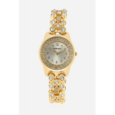 SHI WEI BAO A3228 Luxury Quartz Female WatchWomens Watches<br>SHI WEI BAO A3228 Luxury Quartz Female Watch<br><br>Band material: Zinc Alloy<br>Band size: 17.5cm x 1.3cm<br>Brand: Shiweibao<br>Case material: Zinc Alloy<br>Clasp type: Sheet folding clasp<br>Dial size: 2.5cm x 2.5cm x 0.8cm<br>Display type: Analog<br>Movement type: Quartz watch<br>Package Contents: 1 x Watch ( with Package Box )<br>Package size (L x W x H): 7.80 x 10.20 x 7.20 cm / 3.07 x 4.02 x 2.83 inches<br>Package weight: 0.1480 kg<br>Product size (L x W x H): 21.80 x 3.00 x 0.80 cm / 8.58 x 1.18 x 0.31 inches<br>Product weight: 0.0580 kg<br>Shape of the dial: Round<br>Watch color: Golden<br>Watch style: Cool, Fashion, Business, Casual, Classic<br>Watches categories: Female table,Women<br>Water resistance : Life water resistant