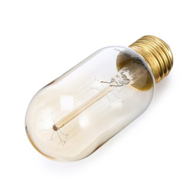 T45 6W 360Lm360 degree Incandescent Bulb AC 220 - 240VGlobe bulbs<br>T45 6W 360Lm360 degree Incandescent Bulb AC 220 - 240V<br><br>Available Light Color: Warm White<br>Features: Long Life Expectancy<br>Function: Studio and Exhibition Lighting<br>Holder: E26<br>Output Power: 6W<br>Package Contents: 1 x Bulb<br>Package size (L x W x H): 5.00 x 5.00 x 12.00 cm / 1.97 x 1.97 x 4.72 inches<br>Package weight: 0.0700 kg<br>Product size (L x W x H): 4.00 x 4.00 x 11.00 cm / 1.57 x 1.57 x 4.33 inches<br>Product weight: 0.0300 kg<br>Sheathing Material: Glass<br>Voltage (V): AC 220-240