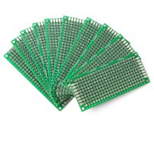 10PCS 3 x 7cm Double Side PCB Printed Circuit Board