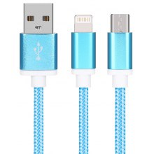 Pocket 2 in 1 USB Charging Cable for iPhone 8