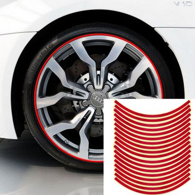 Motorcycle Car Wheel Tire Sticker - 18PCSCar Stickers<br>Motorcycle Car Wheel Tire Sticker - 18PCS<br><br>Package Contents: 18 x Car Sticker<br>Package size (L x W x H): 29.00 x 18.00 x 4.00 cm / 11.42 x 7.09 x 1.57 inches<br>Package weight: 0.0380 kg<br>Product size (L x W x H): 29.00 x 1.00 x 0.10 cm / 11.42 x 0.39 x 0.04 inches<br>Product weight: 0.0180 kg<br>Type: Car Stickers