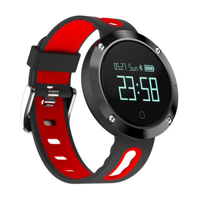 DOMINO DM58 Heart Rate Smartband Bluetooth 4.0Smart Watches<br>DOMINO DM58 Heart Rate Smartband Bluetooth 4.0<br><br>Alert type: Vibration<br>Band material: Silicone<br>Band size: 23.55 x 2.3 cm<br>Battery  Capacity: 120mAh<br>Bluetooth calling: Callers name display<br>Bluetooth Version: Bluetooth 4.0<br>Brand: DOMINO<br>Built-in chip type: NRF51822<br>Case material: Zinc Alloy<br>Charging Time: About 2hours<br>Compatability: Android 4.4 or above and iOS 8.0 or above<br>Compatible OS: Android, IOS<br>Dial size: 4.05 x 4.05 x 1.15 cm<br>Find phone: Yes<br>Groups of alarm: 3<br>Health tracker: Blood Pressure,Heart rate monitor,Pedometer,Sedentary reminder,Sleep monitor<br>IP rating: IP67<br>Messaging: Message reminder<br>Notification type: WhatsApp, Wechat, Skype, Facebook, Twitter<br>Operating mode: Touch Key<br>Package Contents: 1 x Smartband, 1 x English Manual, 1 x Charger<br>Package size (L x W x H): 9.30 x 7.20 x 6.50 cm / 3.66 x 2.83 x 2.56 inches<br>Package weight: 0.1580 kg<br>People: Female table,Male table<br>Product size (L x W x H): 23.55 x 4.05 x 1.15 cm / 9.27 x 1.59 x 0.45 inches<br>Product weight: 0.0390 kg<br>RAM: 32KB<br>ROM: 256KB<br>Screen: OLED<br>Screen size: 0.95 inch<br>Shape of the dial: Round<br>Standby time: 7 - 10 days<br>Waterproof: Yes