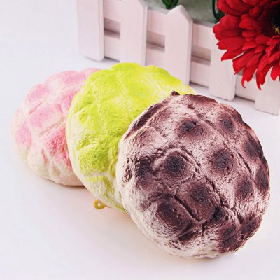 Realistic Pineapple Bread PU Foam Squishy ToySquishy toys<br>Realistic Pineapple Bread PU Foam Squishy Toy<br><br>Color: Green<br>Materials: PU<br>Package Content: 1 x Squishy Toy<br>Package Dimension: 12.00 x 12.00 x 7.00 cm / 4.72 x 4.72 x 2.76 inches<br>Package Weights: 55g<br>Pattern Type: Bread<br>Product Dimension: 10.00 x 10.00 x 5.00 cm / 3.94 x 3.94 x 1.97 inches<br>Product Weights: 28g<br>Products Type: Squishy Toy