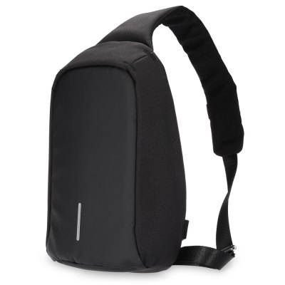 Male Anti-theft Polyester 8L Leisure Sling Bag Chest Pack