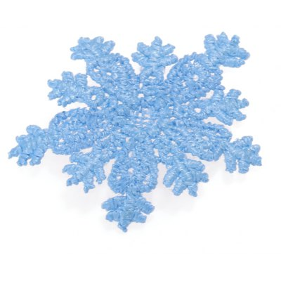 Mini Snowflake Lace Clothes Patch for Wedding Party