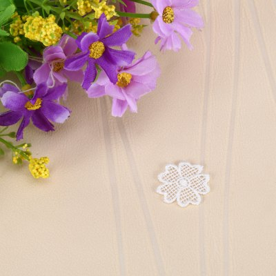 Mini Floral Lace Clothes Patch for Wedding PartyDecorative Flowers<br>Mini Floral Lace Clothes Patch for Wedding Party<br><br>Package Contents: 1 x Flower Patch<br>Package size (L x W x H): 9.90 x 8.60 x 1.10 cm / 3.9 x 3.39 x 0.43 inches<br>Package weight: 0.0120 kg<br>Product size (L x W x H): 2.40 x 2.40 x 0.10 cm / 0.94 x 0.94 x 0.04 inches<br>Product weight: 0.0010 kg<br>Usage: Wedding, Valentine Gift, Party, New Year, Christmas, Birthday