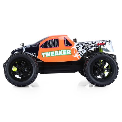 ZINGO RACING 9112M TWEAKER 1:18 Off-road RC Car - RTRRC Cars<br>ZINGO RACING 9112M TWEAKER 1:18 Off-road RC Car - RTR<br><br>Age: Above 8 years old<br>Battery Information: 4.8V 300mAh NiCd<br>Car Power: Built-in rechargeable battery<br>Channel: 4-Channels<br>Charging Time: 180 minutes<br>Control Distance: 30-80m<br>Detailed Control Distance: About 35m<br>Drive Type: RWD ( rear-wheel drive )<br>Material: POM, TPR, Electronic Components, ABS, PVC<br>Motor Type: Brushed Motor<br>Package Contents: 1 x RC Car ( Battery Included ), 1 x Transmitter, 1 x USB Cable, 1 x English Manual<br>Package size (L x W x H): 33.50 x 13.70 x 21.00 cm / 13.19 x 5.39 x 8.27 inches<br>Package weight: 0.8130 kg<br>Product size (L x W x H): 23.00 x 18.20 x 10.20 cm / 9.06 x 7.17 x 4.02 inches<br>Product weight: 0.3850 kg<br>Proportion: 1:18<br>Racing Time: 11~12mins<br>Remote Control: 2.4GHz Wireless Remote Control<br>Speed: 15km/h<br>Transmitter Power: 2 x 1.5V AA battery (not included)<br>Type: Off-Road Car