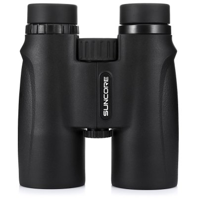 SUNCORE Water-resistant 10 x 42mm Binocular HD TelescopeBinoculars and Telescopes<br>SUNCORE Water-resistant 10 x 42mm Binocular HD Telescope<br><br>Amplification Factor: 10X<br>Brand: SUNCORE<br>Coating Film: FMC<br>Exit pupil diameter: 4.2mm<br>Exit pupil distance: 13.6mm<br>Eyepiece Diameter: 15mm<br>Features: Waterproof, Anti-slip<br>Field Angle(degree): 5.8 degree<br>Field of view: 303ft / 1000yds<br>For: Hunting, Beach, Bird watching, Boating/Yachting, Theater, Horse racing<br>Objective Lens (mm) : 42mm<br>Optical Material: BAK-4<br>Package Contents: 1 x SUNCORE Binocular, 1x Cleaning Cloth, 1 x Lanyard, 1 x Storage Bag<br>Package size (L x W x H): 16.00 x 18.00 x 8.00 cm / 6.3 x 7.09 x 3.15 inches<br>Package weight: 0.8460 kg<br>Prism System: Roof System<br>Product size (L x W x H): 14.80 x 12.50 x 7.00 cm / 5.83 x 4.92 x 2.76 inches<br>Product weight: 0.6270 kg<br>Type: Binocular Telescope