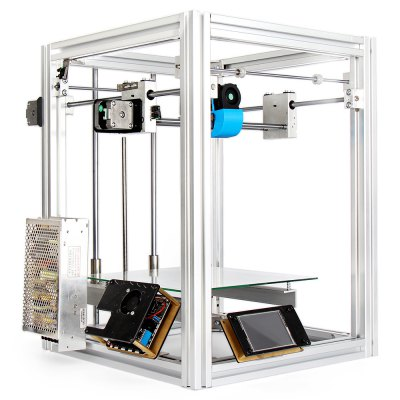 S5 - 24 Full Metal 3D Printer DIY Kit3D Printers, 3D Printer Kits<br>S5 - 24 Full Metal 3D Printer DIY Kit<br><br>Package size: 68.00 x 30.00 x 15.00 cm / 26.77 x 11.81 x 5.91 inches<br>Package weight: 14.1000 kg<br>Packing Contents: 1 x S5 - 24 3D Printer DIY Kit<br>Print speed: 0 - 150mm/s ( adjustable )<br>Product size: 22.00 x 23.00 x 26.00 cm / 8.66 x 9.06 x 10.24 inches<br>Product weight: 14.0000 kg<br>Type: DIY<br>XY-axis positioning accuracy: 0.012mm<br>Z-axis positioning accuracy: 0.0025mm