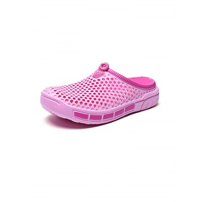 Summer Holes Breathable Beach Women Casual SlippersWomens Sandals<br>Summer Holes Breathable Beach Women Casual Slippers<br><br>Contents: 1 x Pair of Slippers<br>Materials: EVA<br>Occasion: Casual<br>Package Size ( L x W x H ): 28.00 x 15.00 x 5.00 cm / 11.02 x 5.91 x 1.97 inches<br>Package Weights: 0.320kg<br>Seasons: Autumn,Spring,Summer<br>Style: Leisure, Fashion, Comfortable<br>Type: Slippers