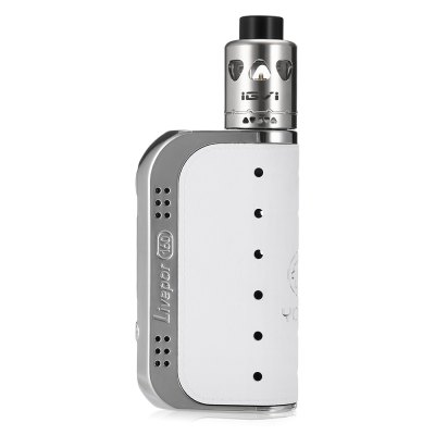 Original Yosta Livepor 160W TC Box Mod KitMod kits<br>Original Yosta Livepor 160W TC Box Mod Kit<br><br>APV Mod Wattage: 160W<br>APV Mod Wattage Range: 151-200W<br>Atomizer Type: Rebuildable Drippers, Rebuildable Atomizer<br>Battery Cover Type: Magnetic<br>Battery Form Factor: 18650<br>Battery Quantity: 2pcs ( not included )<br>Brand: Yosta<br>Connection Threading of Atomizer: 510<br>Connection Threading of Battery: 510<br>Material: Stainless Steel, PC<br>Mod Type: VV/VW Mod, Temperature Control Mod<br>Model: Livepor 160W<br>Package Contents: 1 x Mod, 1 x Atomizer, 1 x USB Cable, 1 x English User Manual, 1 x Accessory Bag, 1 x Pack of Cotton<br>Package size (L x W x H): 8.20 x 12.70 x 6.30 cm / 3.23 x 5 x 2.48 inches<br>Package weight: 0.2880 kg<br>Product size (L x W x H): 9.40 x 5.40 x 2.50 cm / 3.7 x 2.13 x 0.98 inches<br>Product weight: 0.0650 kg<br>Temperature Control Range: 100 - 300 Deg.C / 200 - 600 Deg.F