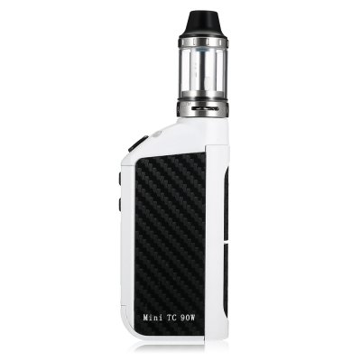 KVP Mini TC 90W Box Mod KitMod kits<br>KVP Mini TC 90W Box Mod Kit<br><br>APV Mod Wattage Range: 51-100W<br>Atomizer Capacity: 2.0ml<br>Atomizer Resistance: 0.2 ohm<br>Atomizer Type: Clearomizer, Tank Atomizer<br>Battery Form Factor: 18650<br>Battery Quantity: 1pc ( not included )<br>Brand: KVP<br>Connection Threading of Atomizer: 510<br>Material: Aluminium Alloy<br>Mod Type: VV/VW Mod, Temperature Control Mod<br>Model: Power 60W<br>Package Contents: 1 x Mod, 1 x Atomizer, 1 x USB Cable, 1 x Coil, 1 x Glass Tank, 1 x English User Manual<br>Package size (L x W x H): 12.00 x 7.20 x 6.00 cm / 4.72 x 2.83 x 2.36 inches<br>Package weight: 0.3100 kg<br>Product size (L x W x H): 4.50 x 2.40 x 14.10 cm / 1.77 x 0.94 x 5.55 inches<br>Product weight: 0.1570 kg<br>Temperature Control Range: 100 - 300 Deg.C / 200 - 600 Deg.F