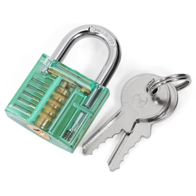 HakkaDeal Lock Pick Set  with Red PadlockLock Picks and Tools<br>HakkaDeal Lock Pick Set  with Red Padlock<br><br>Brand: HakkaDeal<br>Materials: Rubber, Stainless Steel<br>Package Contents: 12 x Lock Pick, 5 x Tension Wrench, 1 x Bag, 1 x Green Padlock, 2 x Key<br>Package size (L x W x H): 17.00 x 10.00 x 3.50 cm / 6.69 x 3.94 x 1.38 inches<br>Package weight: 0.2400 kg<br>Packing Type: Kits<br>Product size (L x W x H): 16.00 x 9.00 x 2.20 cm / 6.3 x 3.54 x 0.87 inches<br>Product weight: 0.1900 kg<br>Special function: Lock Pick Set