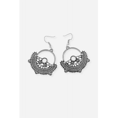Fashion Retro Geometric Pendant Earrings EardropsEarrings<br>Fashion Retro Geometric Pendant Earrings Eardrops<br><br>Fabric: Alloy<br>Package Contents: 1 x Pair of Eardrops, 1 x Gift Box<br>Package size (L x W x H): 5.00 x 8.40 x 2.40 cm / 1.97 x 3.31 x 0.94 inches<br>Package weight: 0.0300 kg<br>Product weight: 0.0130 kg<br>Style: Retro<br>Type: Earrings