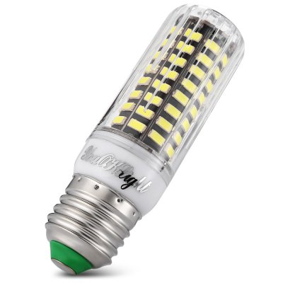 YouOKLight E26 / E27 9W 800Lm 5733 SMD 80 LEDs Corn BulbCorn Bulbs<br>YouOKLight E26 / E27 9W 800Lm 5733 SMD 80 LEDs Corn Bulb<br><br>Available Light Color: White<br>Brand: YouOKLight<br>CCT/Wavelength: 6000K<br>Emitter Types: SMD 5733<br>Features: Low Power Consumption<br>Function: Home Lighting<br>Holder: E26/E27<br>Luminous Flux: 800Lm<br>Output Power: 9W<br>Package Contents: 1 x YouOKLight E26 / E27 Corn Bulb<br>Package size (L x W x H): 4.00 x 4.00 x 11.50 cm / 1.57 x 1.57 x 4.53 inches<br>Package weight: 0.0610 kg<br>Product size (L x W x H): 2.80 x 2.80 x 10.40 cm / 1.1 x 1.1 x 4.09 inches<br>Product weight: 0.0330 kg<br>Sheathing Material: Plastic, Aluminum<br>Total Emitters: 80<br>Type: Corn Bulbs<br>Voltage (V): AC 110-130