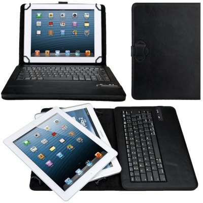 PU Leather Keyboard Case for 9.0 / 10.1 inch Tablet PCTablet Accessories<br>PU Leather Keyboard Case for 9.0 / 10.1 inch Tablet PC<br><br>Accessory type: Bluetooth Keyboard<br>For: Tablet PC<br>Material: PU Leather<br>Package Contents: 1 x Keyboard Case<br>Package size (L x W x H): 33.00 x 23.00 x 6.00 cm / 12.99 x 9.06 x 2.36 inches<br>Package weight: 0.4300 kg<br>Product size (L x W x H): 27.00 x 19.00 x 3.00 cm / 10.63 x 7.48 x 1.18 inches<br>Product weight: 0.3250 kg