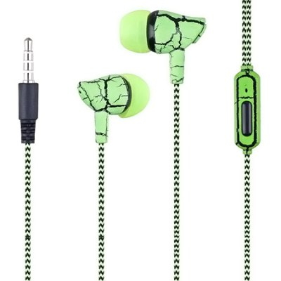 Crack Stereo Earbuds with Cloth Line
