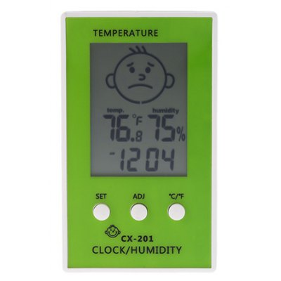 CX - 201 Indoor Outdoor Thermometer Hygrometer